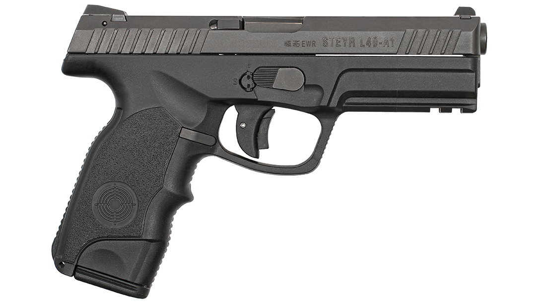 Steyr L40-A1 pistol right profile