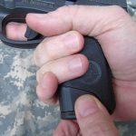 Steyr L40-A1 pistol grip