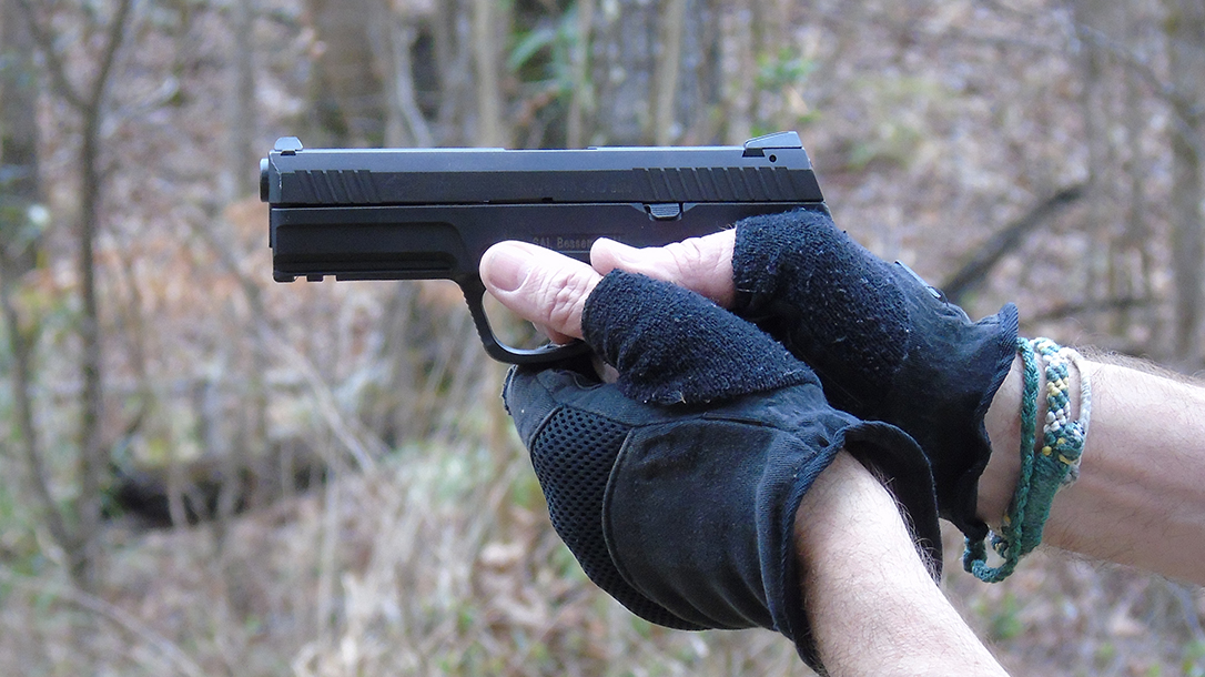 Steyr L40-A1 pistol frame
