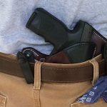 Steyr L40-A1 pistol holster