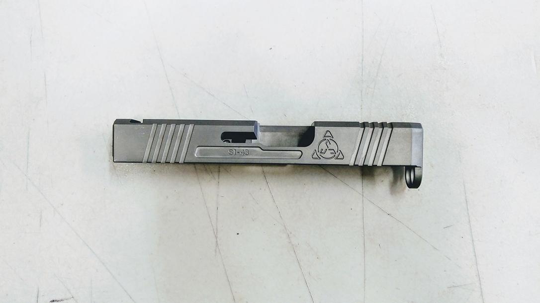 Suarez Supermatch SI-43 glock 43 slide right profile