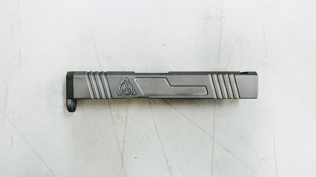 Suarez Supermatch SI-43 glock 43 slide left profile