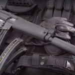 Walther HK MP5A5 rifle right angle