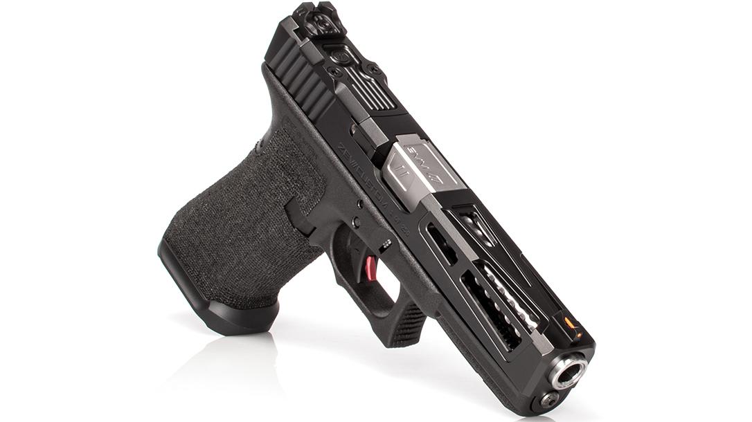 zev Enhanced Prize Fighter pistol slide right angle