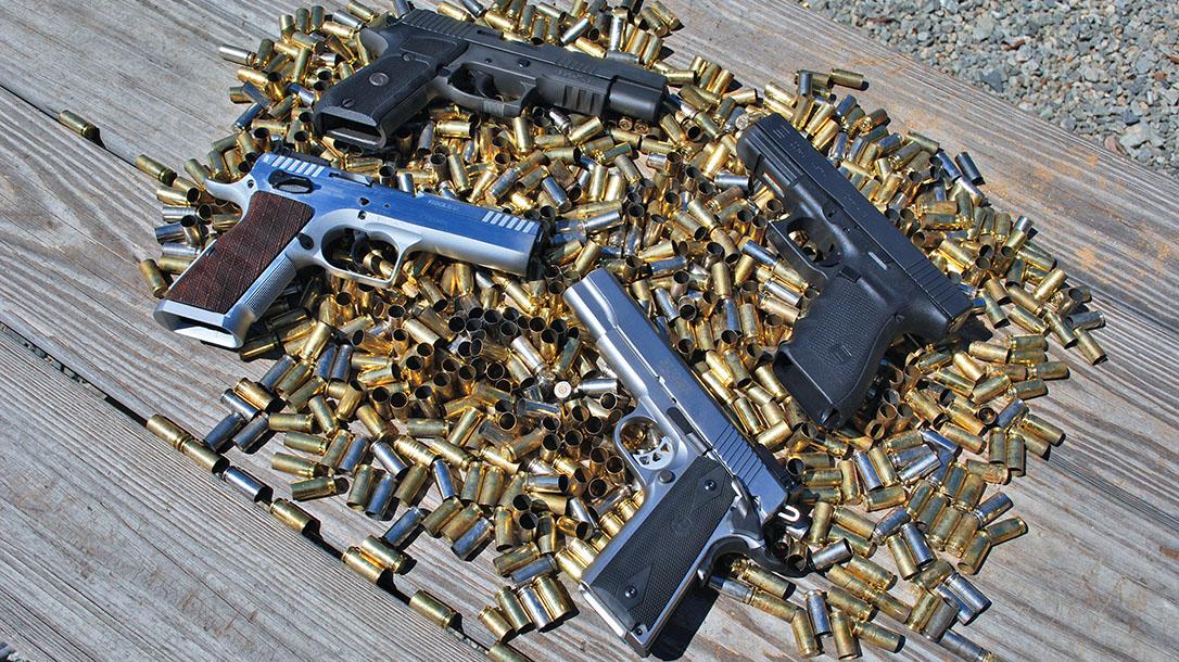 Diverse Firearm Calibers 10mm Auto handguns