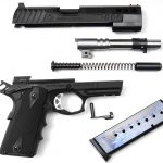ATI FXH-45 pistol disassembled