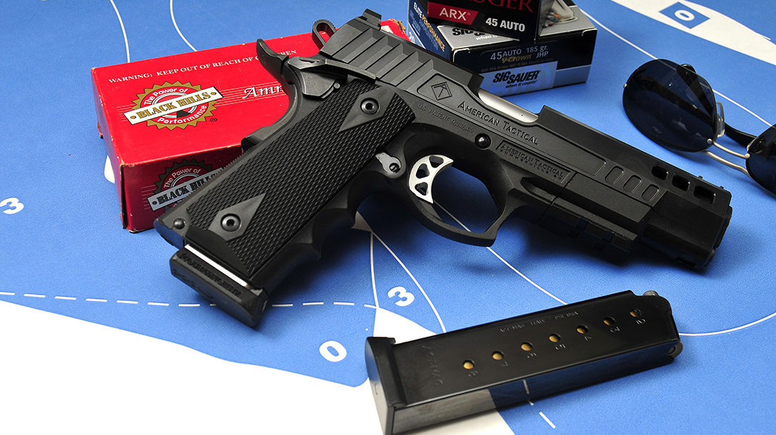 ATI FXH-45 pistol ammo