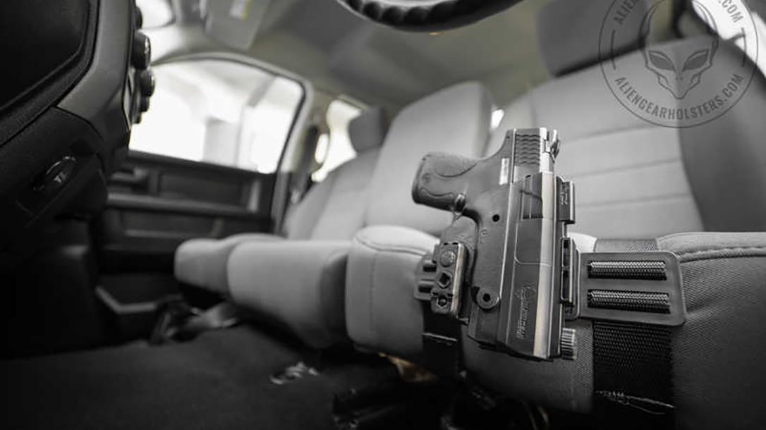 Alien Gear ShapeShift Driver Defense Holster car seat