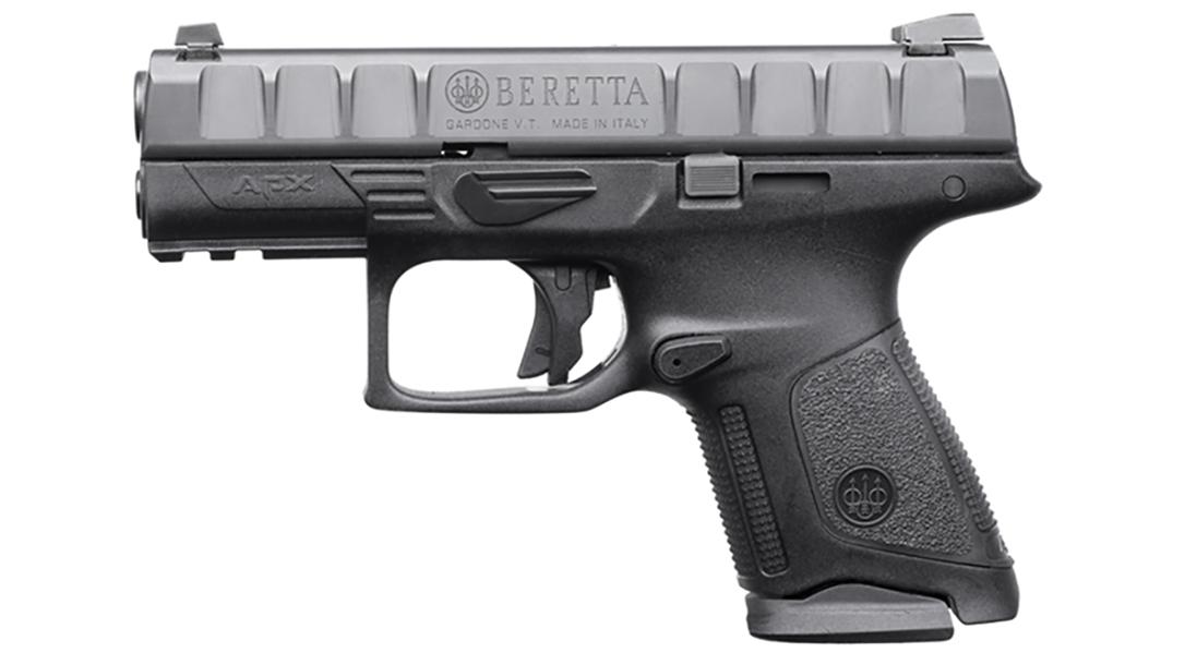 Beretta APX Compact pistol left profile