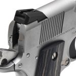 Colt Wiley Clapp Stainless Commander 1911 pistol rear sight