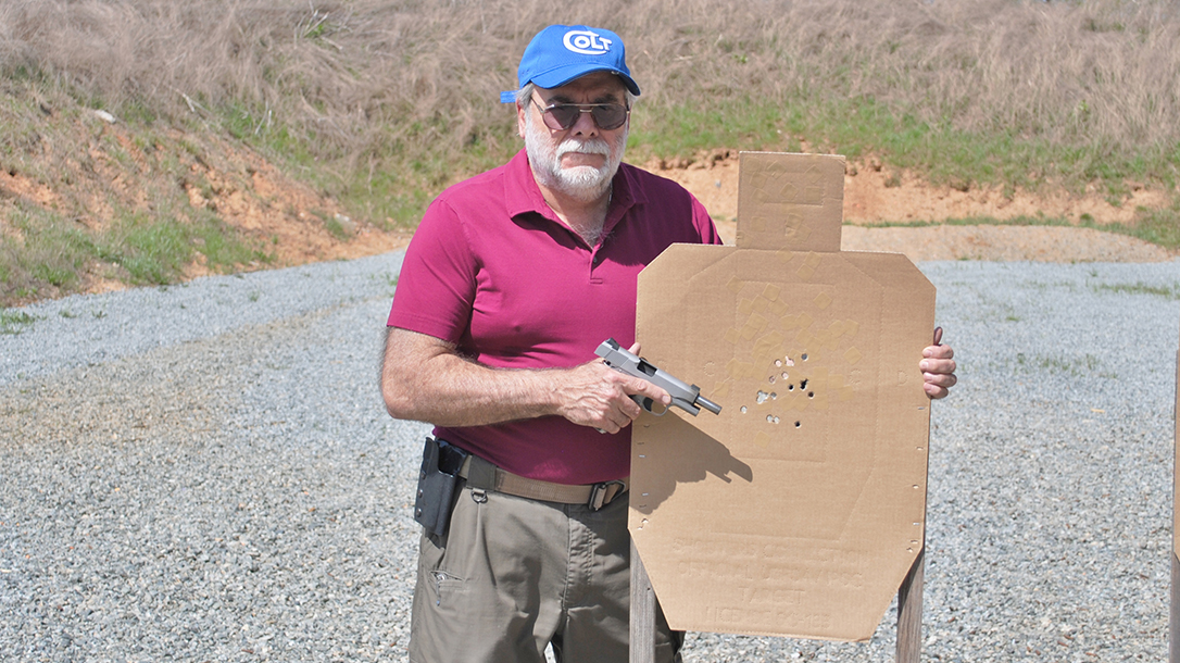 Colt Wiley Clapp Stainless Commander 1911 pistol test
