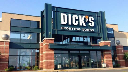 dick's sporting goods exterior