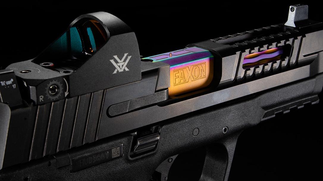 faxon firearms patriot slide closeup