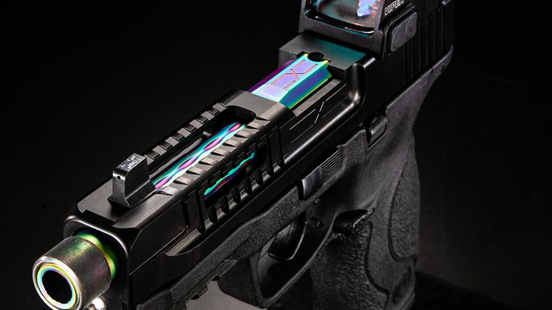 faxon firearms smith m&p slide angle