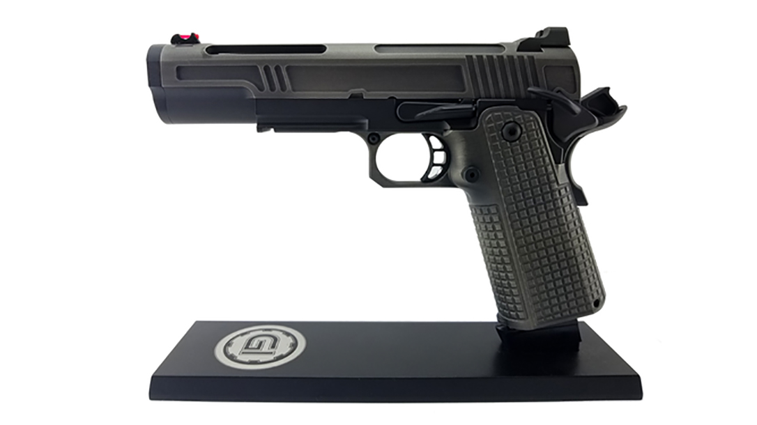 Guncrafter Hellcat X2 government pistol left profile