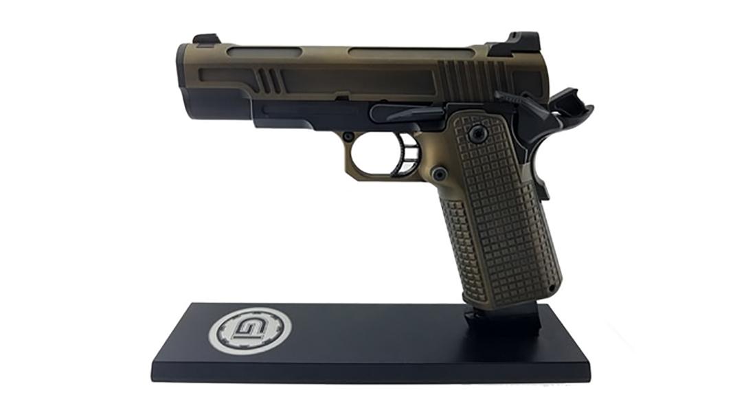 Guncrafter Hellcat X2 commander pistol left profile