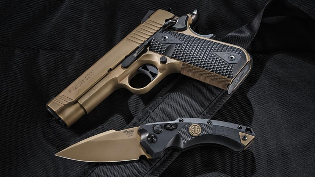 hogue sig sauer knives EX-A01 automatic