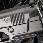 Hudson H9 pistol slide serrations rail