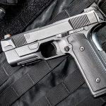 Hudson H9 pistol left profile