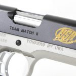 Kimber Team Match II pistol usa shooting engraving