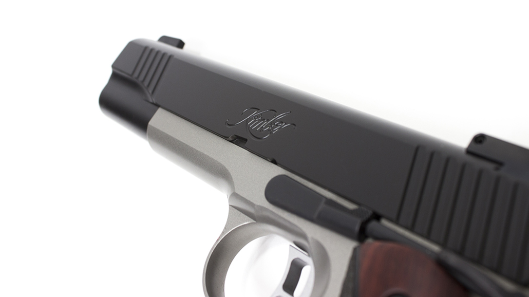 Kimber Team Match II pistol slide