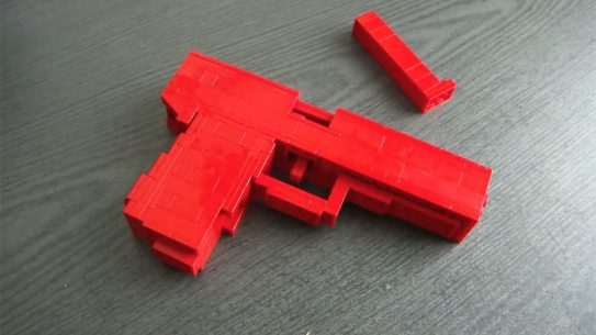 lego gun right profile