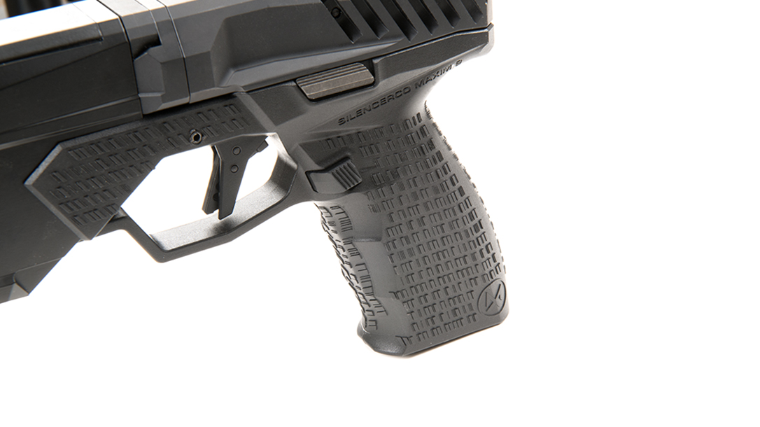 SilencerCo Maxim 9 pistol grip