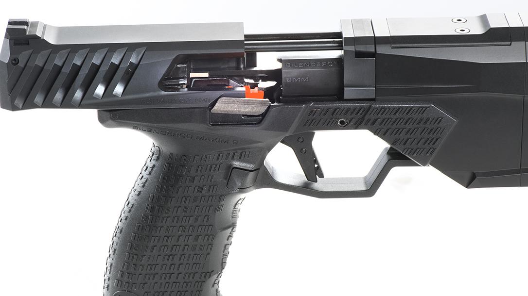 SilencerCo Maxim 9 pistol slide rails
