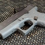 Suarez Guttersnipe Glock 43 pistol left angle