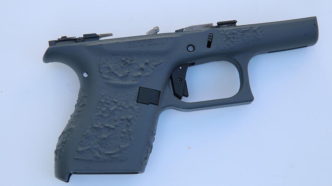 Suarez Guttersnipe Glock 43 pistol frame