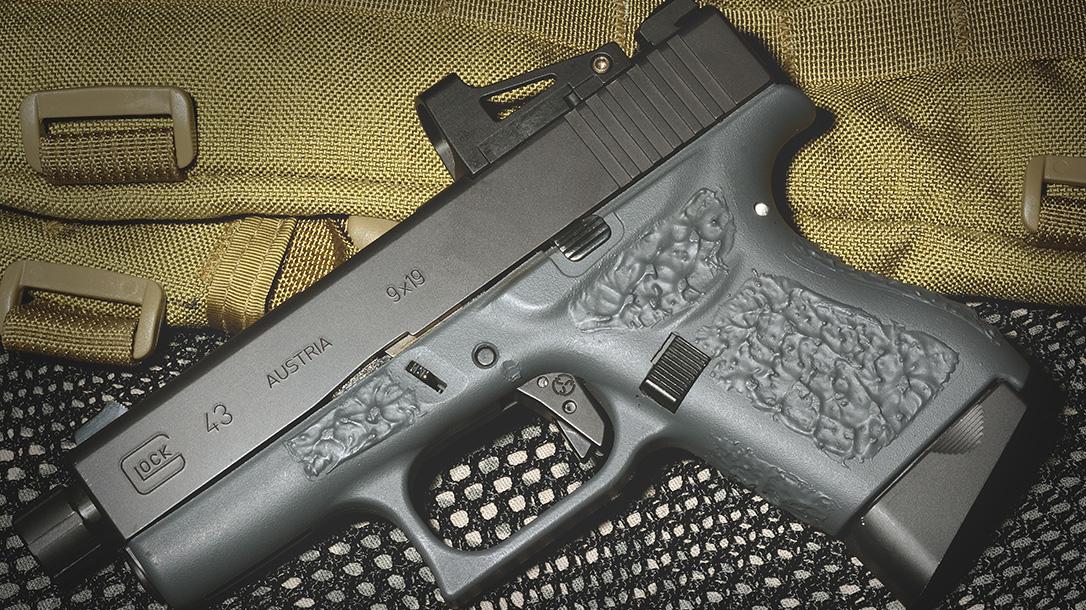 Suarez Guttersnipe Glock 43 pistol left profile