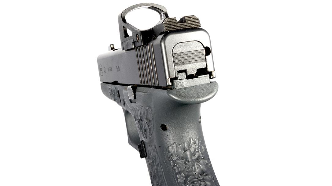 Suarez Guttersnipe Glock 43 pistol rear sight