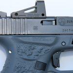 Suarez Guttersnipe Glock 43 pistol shield rms sight