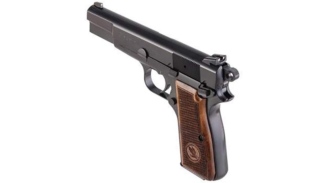 TISAS Regent BR9 pistol rear angle