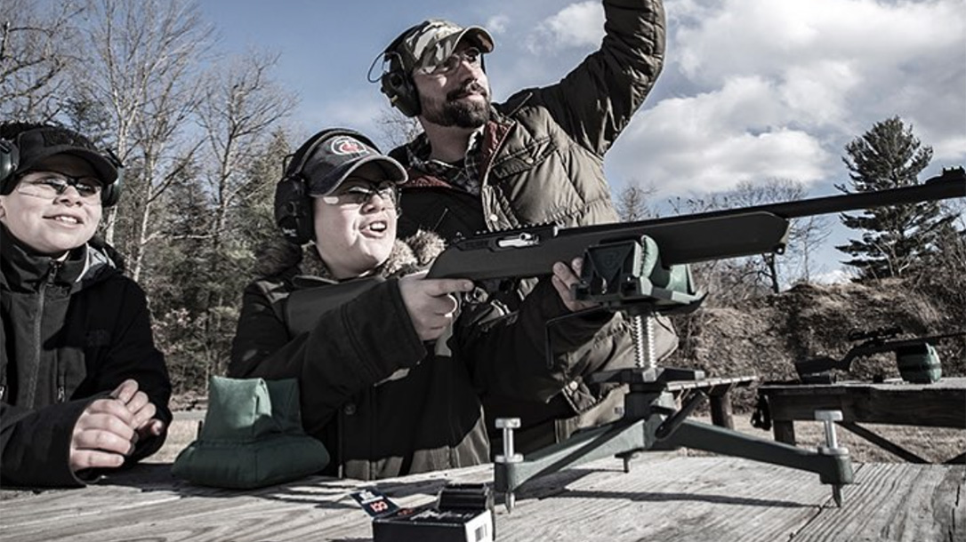 Thompson/Center Arms t/cr22 rifle first-time shooter