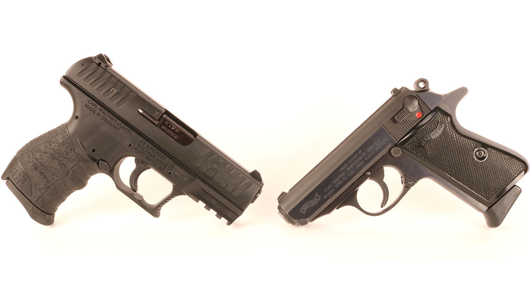 Walther CCP walther PPK s pistol comparison