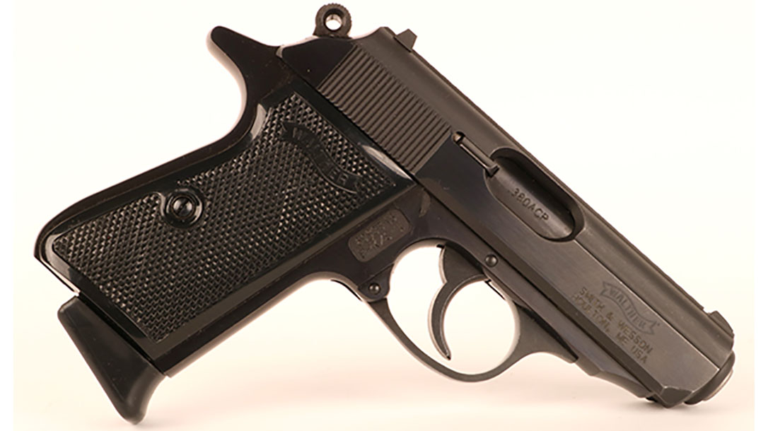 Walther PPK S pistol right profile