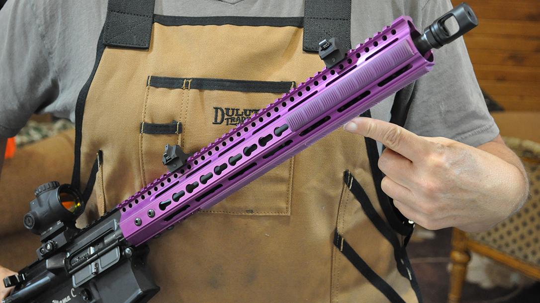 ar-15 rifle handguard