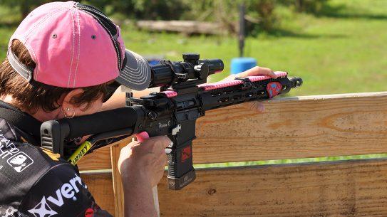 ar-15 rifle shooting