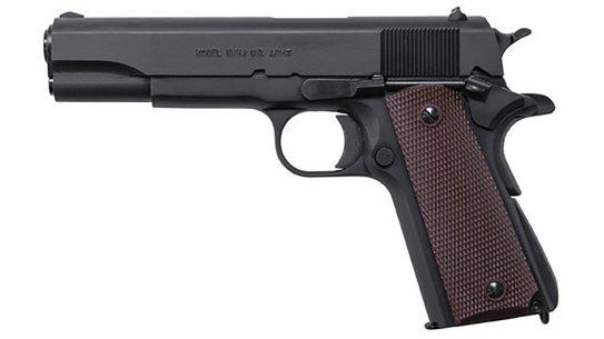 auto-ordnance 9mm 1911 handgun left profile