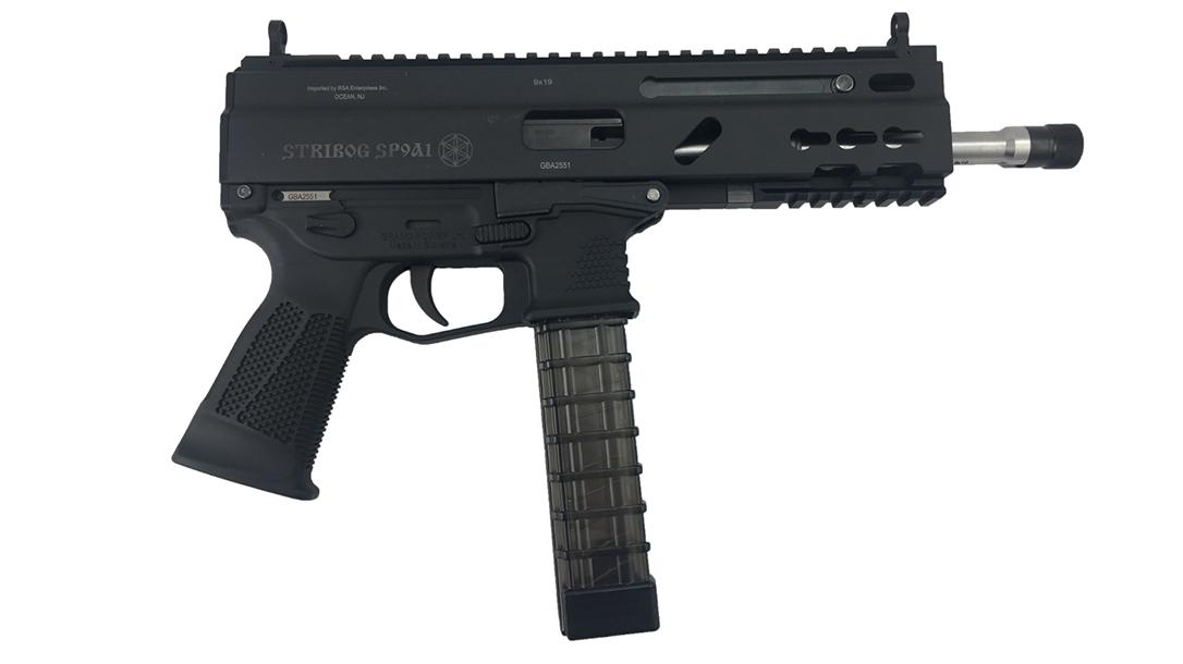 Grand Power Stribog pistol carbine right profile