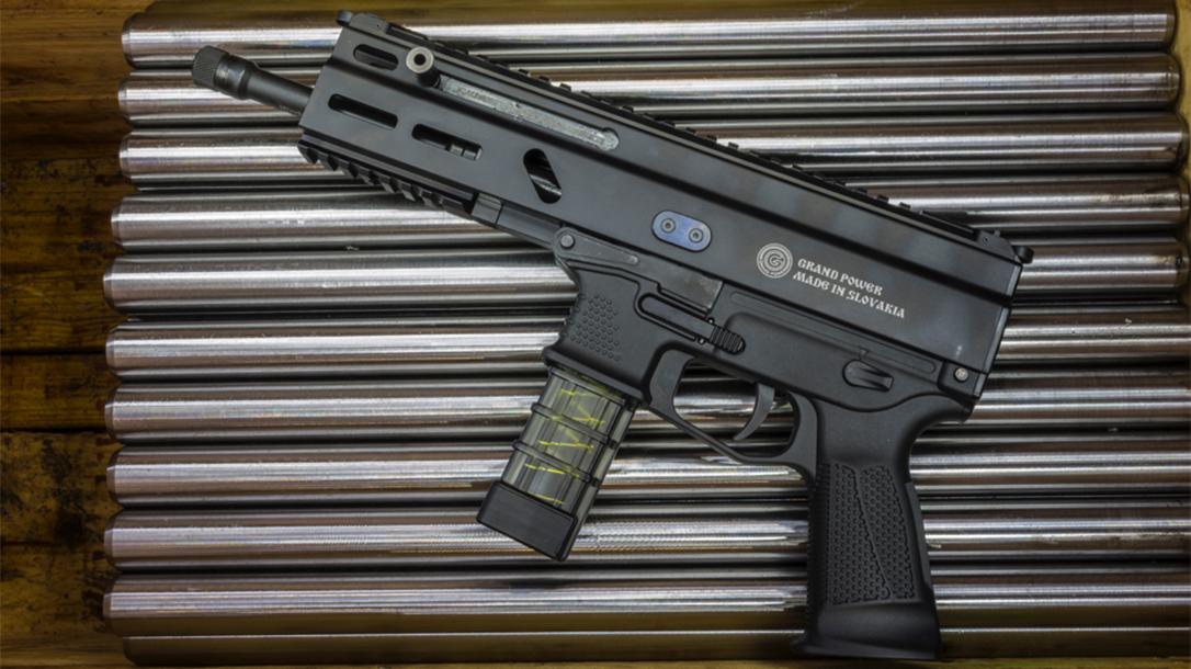 Grand Power Stribog pistol carbine