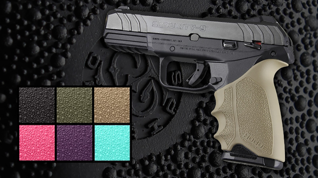 hogue handall beavertail grip sleeve ruger security 9 color options