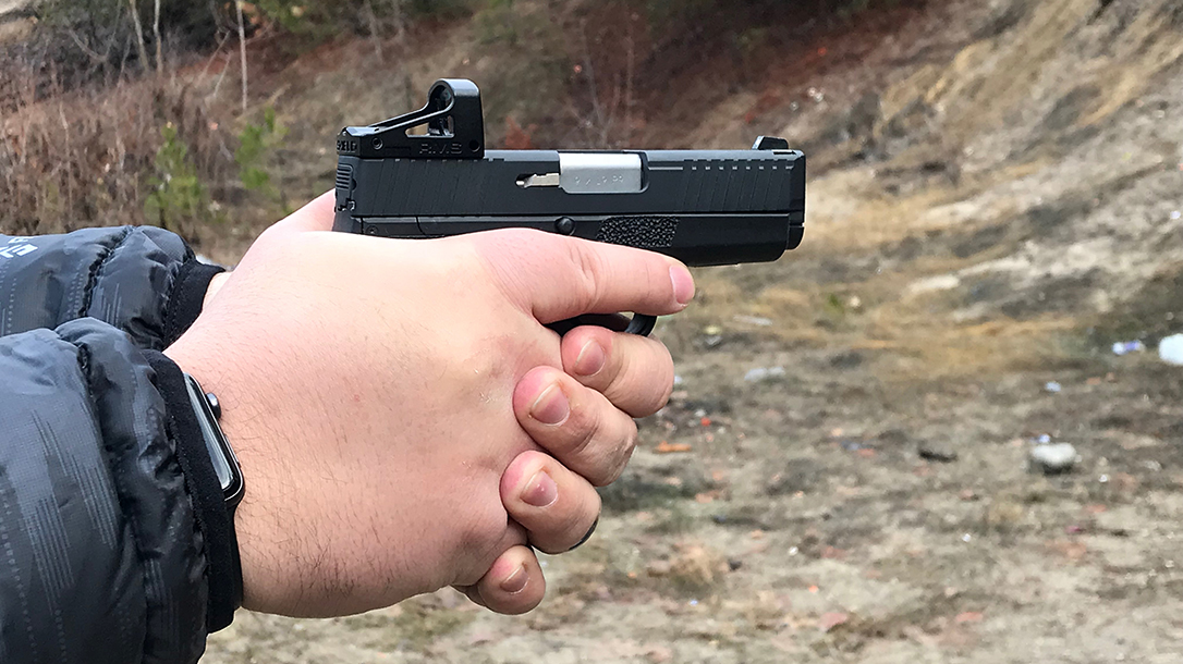 custom kahr p9 pistol shield rms