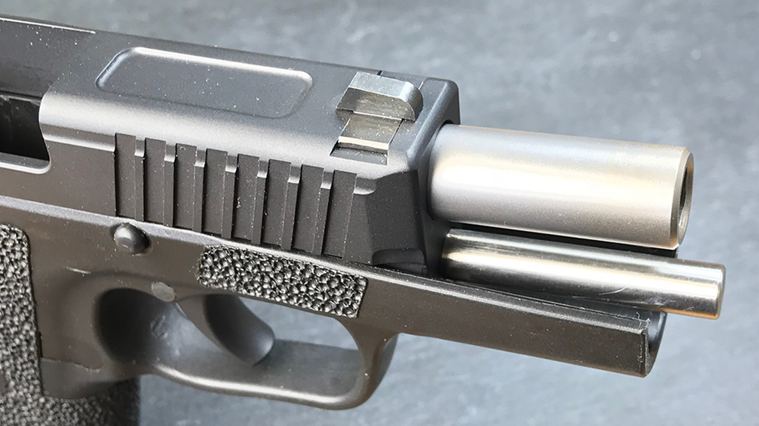 custom kahr p9 pistol barrel