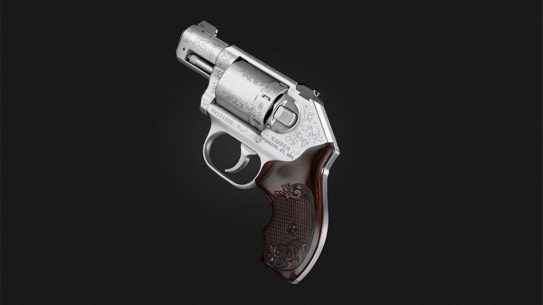 K6s Classic Engraved revolver left profile