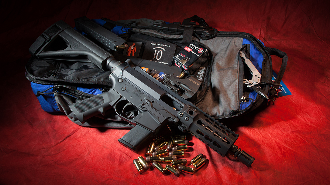 Quarter Circle 10 QC10 GLF ar pistol beauty