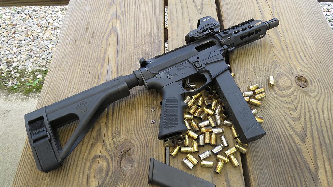 Quarter Circle 10 QC10 GLF ar pistol ammo