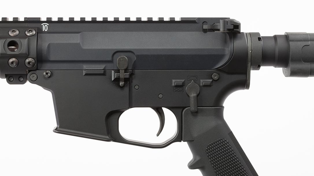 Quarter Circle 10 QC10 GLF ar pistol magazine well