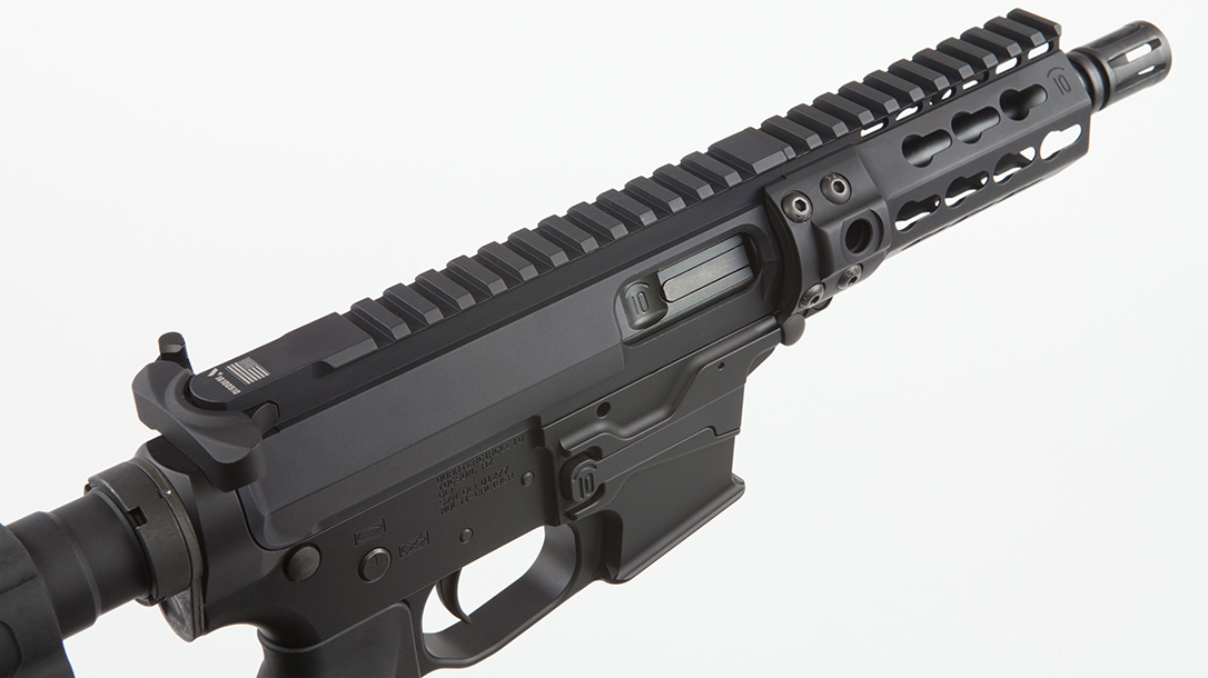 Quarter Circle 10 QC10 GLF ar pistol rail
